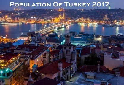 Population Of Turkey 2017