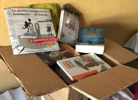 Donate libri alla biblioteca dei bimbi! Liniziativa dei volontari del reparto pediatria dellOspedale Santobono Pausilipon di Napoli