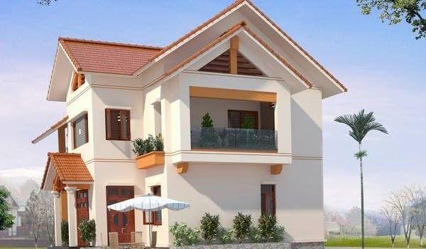 5 mẫu thiết kế biệt thự 2 tầng tuyệt đẹp