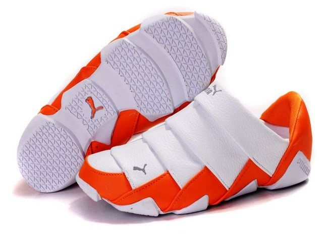 Women's Puma Mummy Low Shoes White/Orange