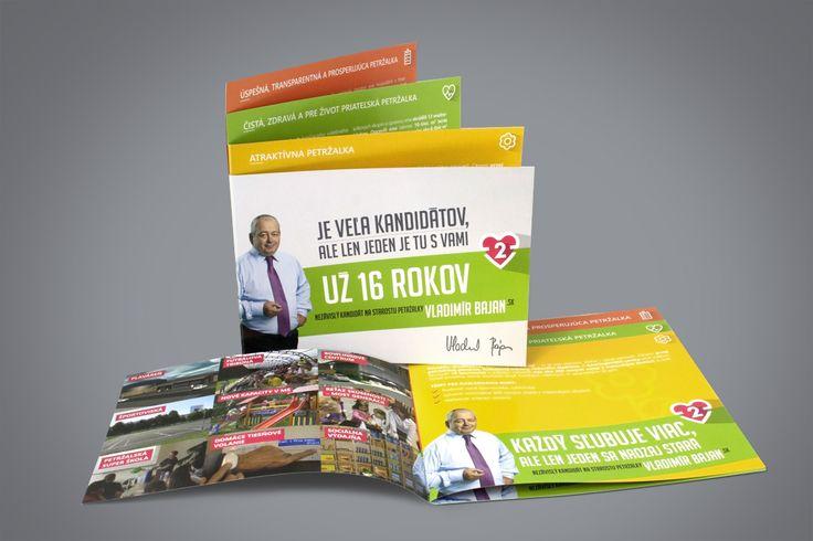 Local elections 2014 - VB, Bratislava-Petržalka, booklet #aircreative #advertisingagency #advertising #booklet #promo