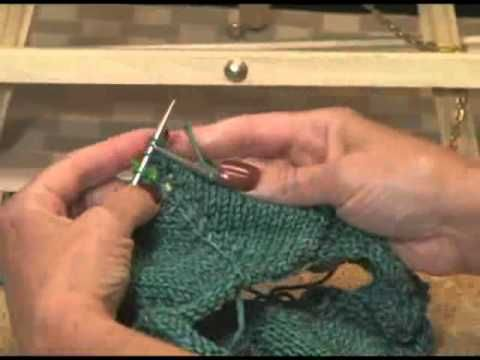 Knitting Instructional: How to Create Button Holes and Divide Sleeves for Top Down Sweaters