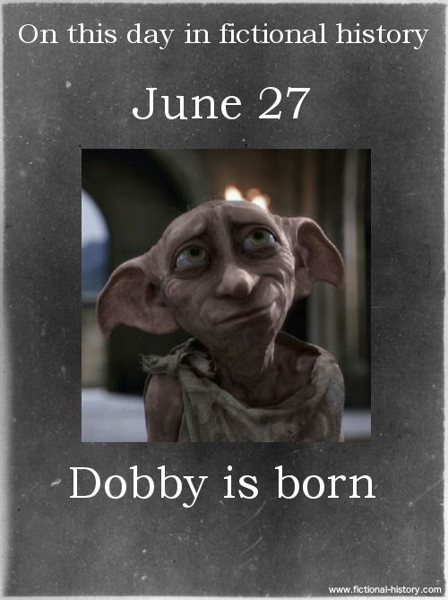 Name: Dobby - Birthdate: June 27 - Sun Sign: Cancer