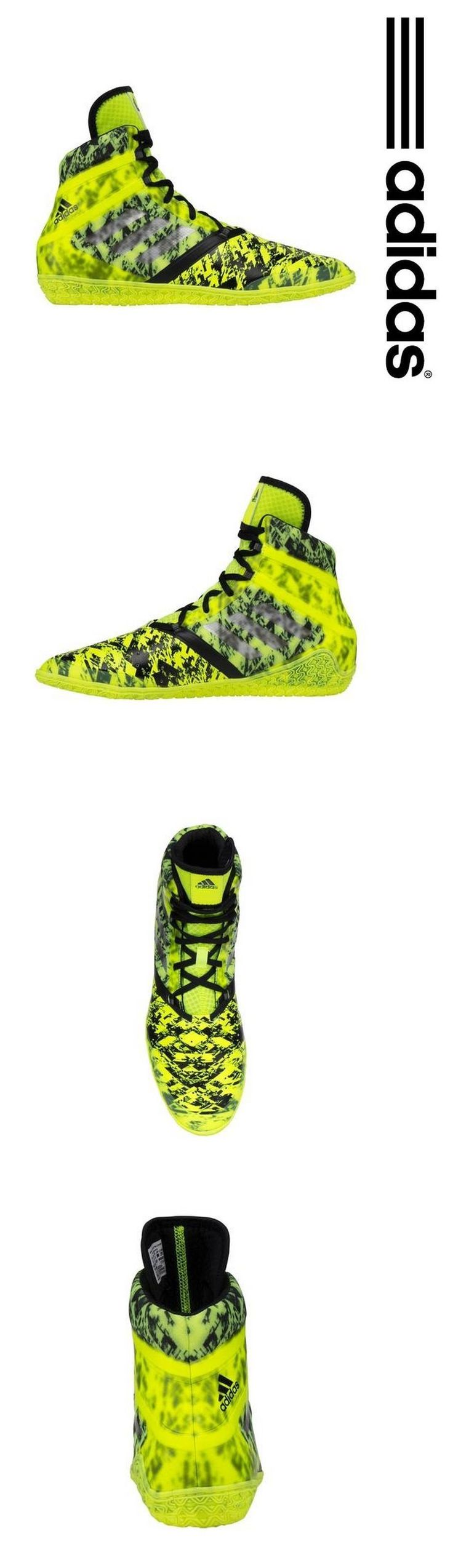 Accessories 36306: Adidas Wrestling Shoes (Boots) Ringerschuhe Flying Impact Chaussures De Lutte BUY IT NOW ONLY: $109.95