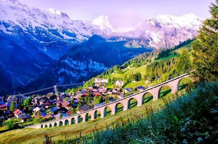 Murren Switzerland  city photos : Murren, Switzerland | Europe | Pinterest