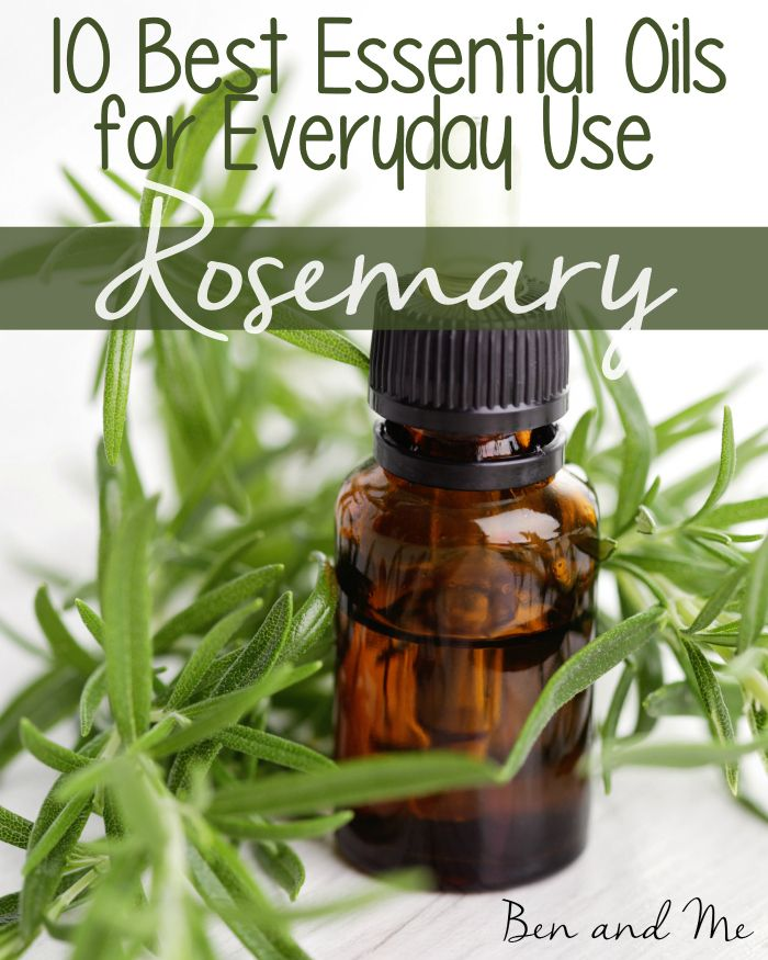 "Rosemary Essential Oil is one of my favorite oils for ""medicinal"" use."