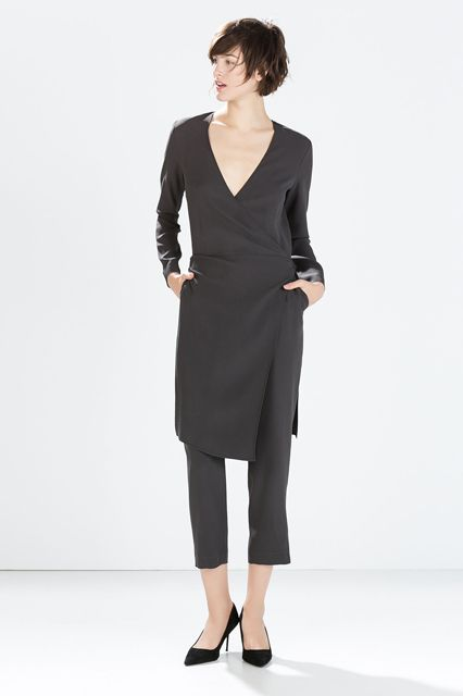 Whether it's a wrap dress over a pair of trousers, a sweater over the tails of a shirtdress, or an apron over leggings, these pieces take the guesswork out of tricky layering. Similar Attributes: These items truly make a statement. Added Benefits: The trickiest part of layering is finding pieces that coordinate; this one's done that for you. True, you won't be able to separate for mix-and-match styling, but you're sure to get plenty of mileage out of your one ultra-wearable piece.