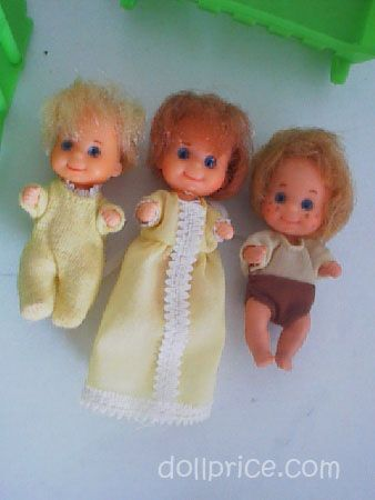 Mattel 70's Sunshine Family 9 Dolls & Accessories - Pic 5
