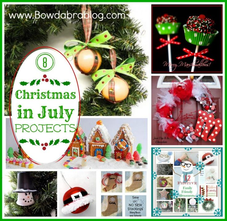 8 Christmas In July Projects