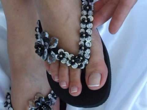 Brazilian customized Havaianas flip flops, http://www.thebrazilianstyle.com