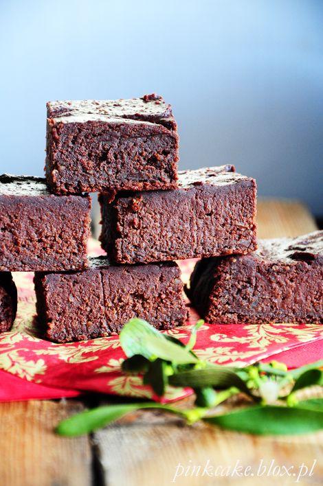 Dietetyczne ciasto z fasoli - azuki bean brownie - bez ...