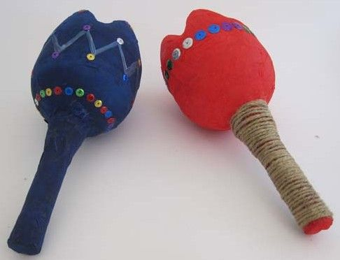 Make your own Maracas Craft | Activity Bucket""