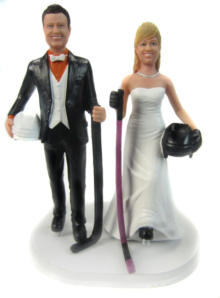 323 best Wedding cake topper Sports professions images on