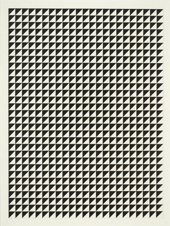 Triangle grid: 0124 50 50, 50 50 Vi Tauba Auerbach Large, Trianglegrid Taubaauerbach, 0124 5050, Art, Graphics, Auerbach Patterns, Design, 5050 Vitaubaauerbachlarg