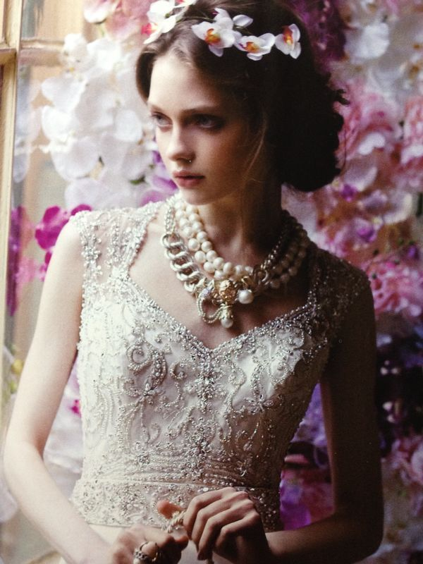 From vintage, to ethereal, to simply fabulous Giuseppina Fermi Gioielli pieces featured in Vogue Sposa April 2014 Issue! Very recommended for all of our dazzling muses and brides to be that desire their perfect wedding look! #weddinginspiration #voguesposa #gioielli #sposa #brides #vintage