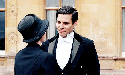 """ Thomas Barrow in Downton Abbey: The Final Episode "" ll"
