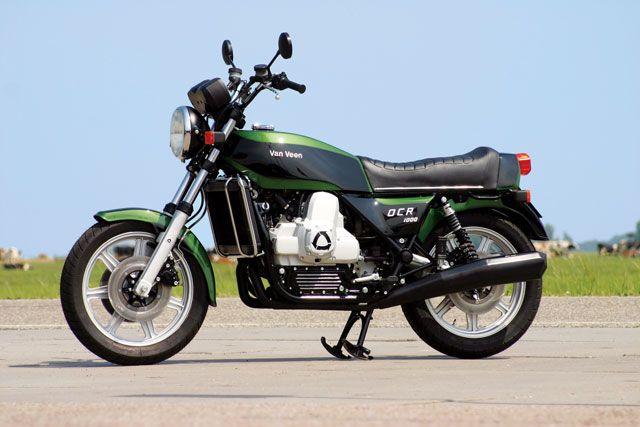 Van Veen OCR 1000 first Wankel motorcycle by the Dutch tuner van Veen, famous for Kreidler 50 cc racers