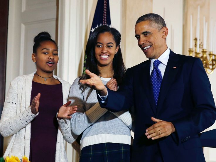 Read the letter George W. Bush's daughters wrote to Obama's daughters