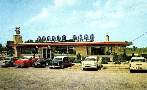 Waffle Shop - Schererville, Indiana: Waffles Houses, Coffee Shops, Waffles Shops, Memorial Shops, Posts, Americana Memories