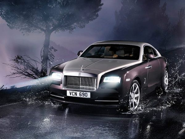 First Look: The Rolls-Royce Wraith