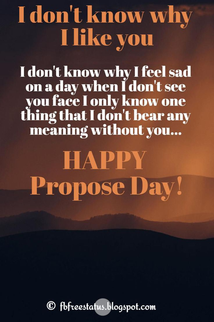 Love Proposal Quotes with HD images