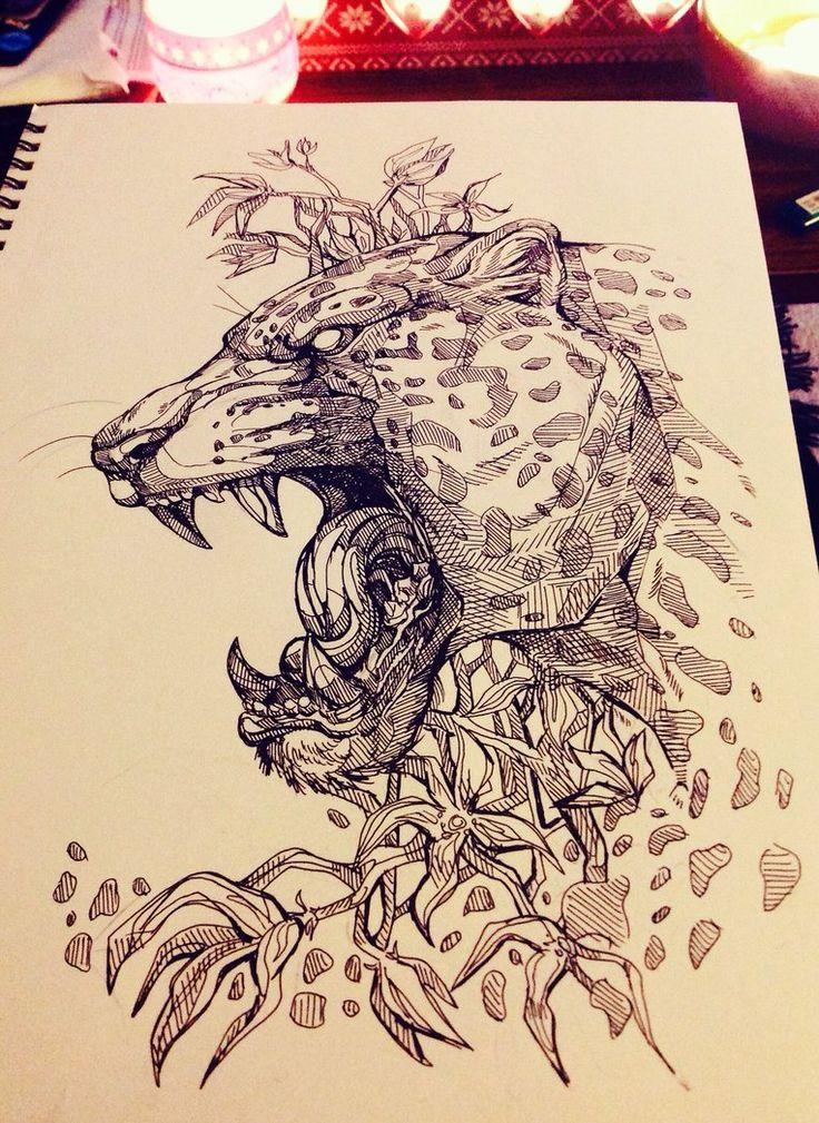 The Jaguar king by WolfSkullJack
