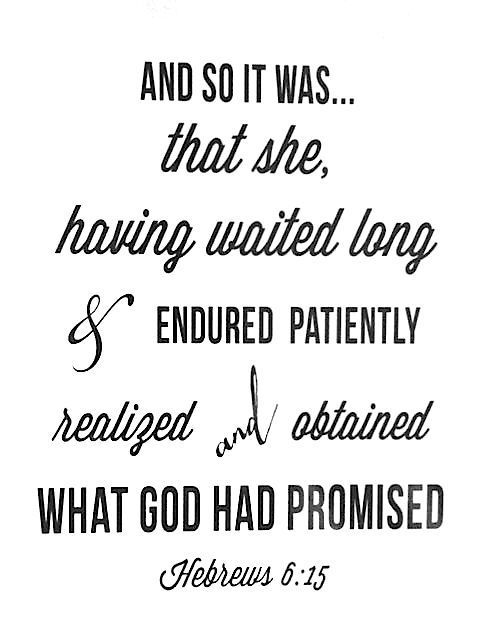 The Lord Is Faithful and He Cannot Lie!!!!