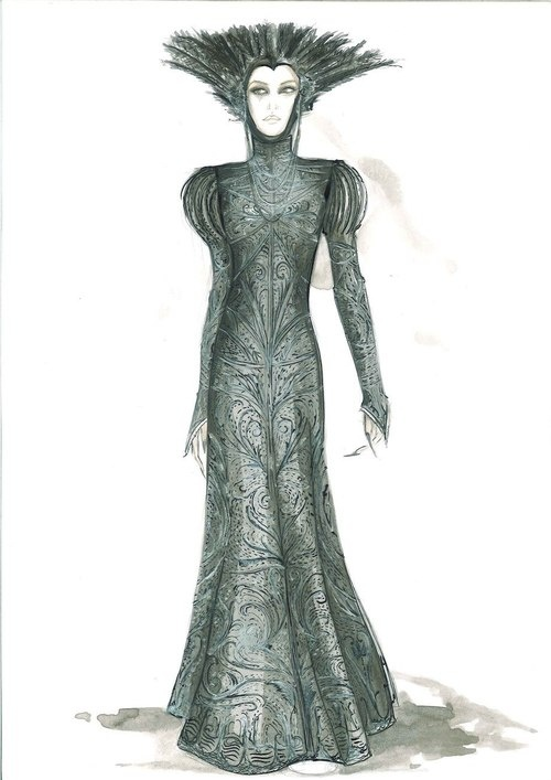 Colleen Atwood's design for Ravenna's cloak