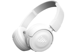 JBL T450, On-ear Kopfhörer, Headsetfunktion, Bluetooth, Weiß