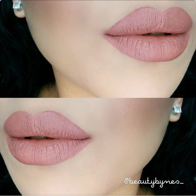 """@beautybynes_ wearing mac ""Velvet Teddy"" Lipstick and "" Staunchly Stylish"" Lip liner. ❤ Loveeee it ! ❤ #vegas_nay"""