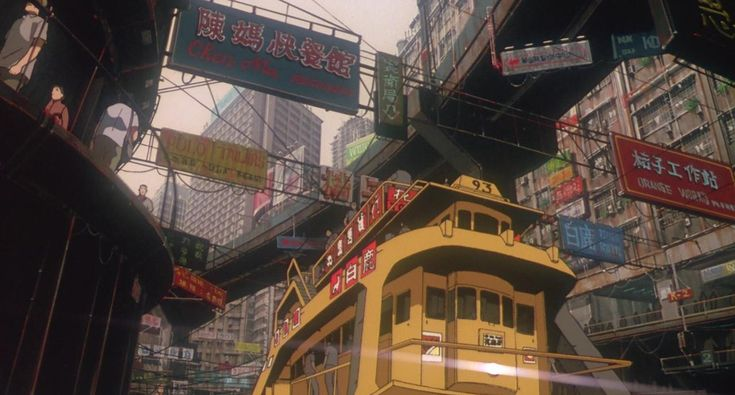 Ghost in the Shell: Directed by Mamoru Oshii. Created by Production I.G.