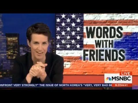 """The Rachel Maddow Show 7/6/17  """"WORDS WITH FRIENDS"""" - Rachel ANALYSTS Be..."""
