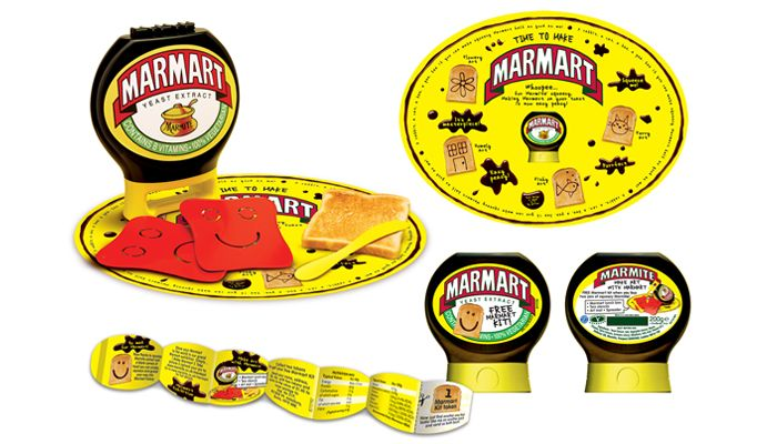 'MARMART' KIT for launch of the squeezy bottle