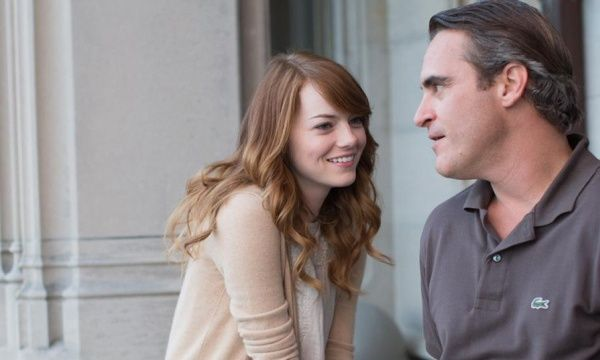The first still for #WoodyAllen's #IrrationalMan, starring Emma Stone and Joaquin Phoenix.