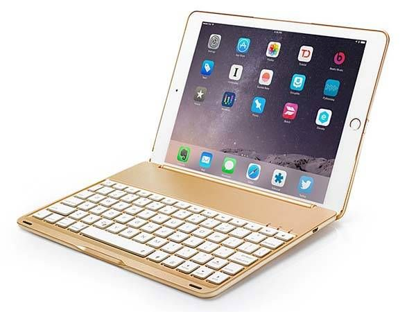 The Illuminated iPad Air 2 Keyboard Case-SR