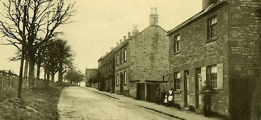 The late John Malin (village historian) labeled a similar photo as being on Park Road, Blockley, England.