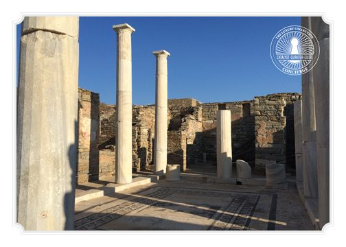 Our Concierge recommends: If you love ancient ruins, Delos island is a must see.  A place where ancient Greek spirit still lives!  #mykonos #delos