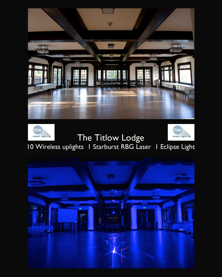 Titlow Lodge - Tacoma WA An ex&le of how lighting can change a room! Event LightingLodges  sc 1 st  Pinterest & 25 best NW Event Lighting images on Pinterest | Event lighting ... azcodes.com