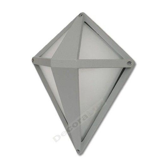 l mpara aplique pared zinc exteriores dise o moderno