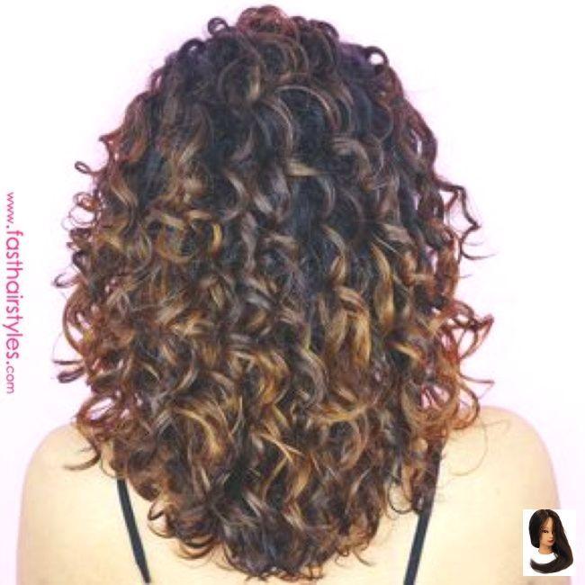 +95 Différentes couleurs de coiffures frisées pour votre tableau Pinterest - #coiffures #couleurs #differentes #frisees #pinte