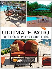 Picture of discount patio furniture from Ultimate Patio catalog