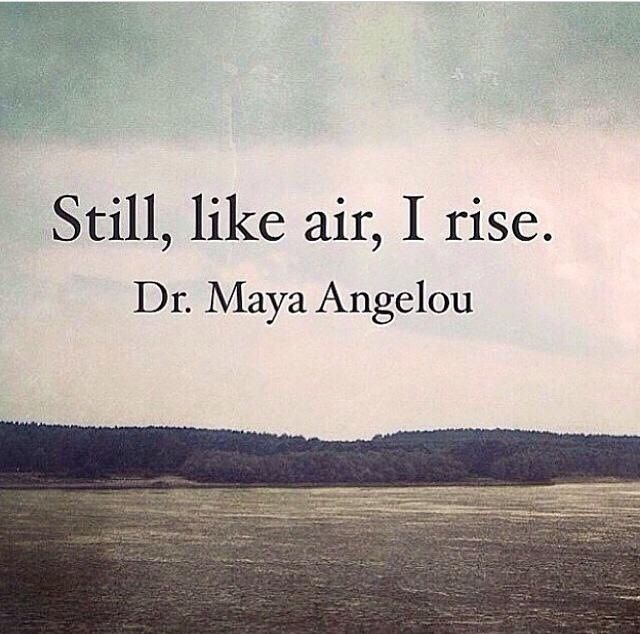 feminism in still i rise by maya angelou Angelou escapes home (raped by her mother's boyfriend, her mother didn't   and her frank and forthright views see her as feminist and political icon  maya  angelou and still i rise is part of this year's documentary edge.