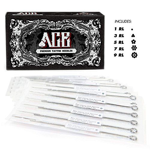ACE Needles 50 Mixed Assorted Tattoo Needles 6 Sizes  Round Liner 1 3 5 7 9 11 RL * Click image to review more details. Note:It is Affiliate Link to Amazon. #comments