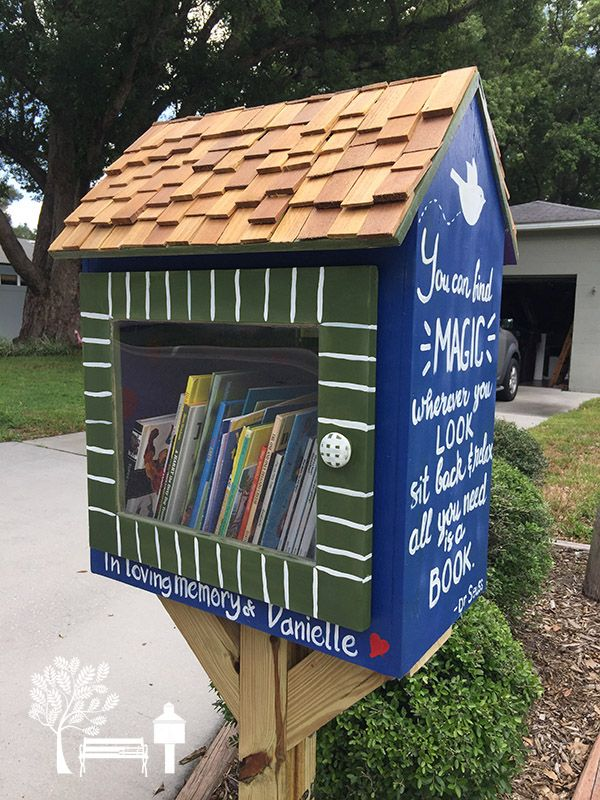 Richard Peeples. Orlando, FL. This Little Free Library is a tribute to my late wife, Danielle. She taught second and third graders for Orange County Schools here in Florida from 2005-2012, and was elected Teacher of the Year her final year before being diagnosed with breast cancer. Danielle loved reading and instilling that love in her students. This library is a gift from the Retz, Christensen and Roth Families.