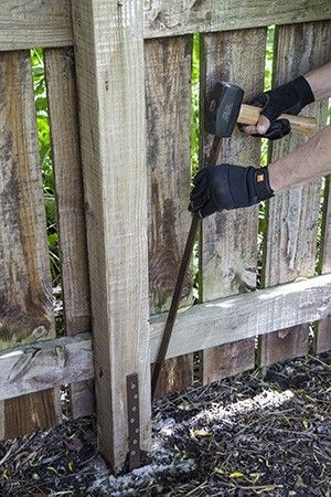 Fence Post Repair Projects To Try Fence Post Repair