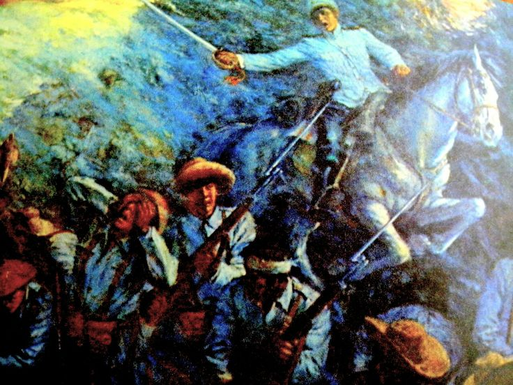 "The Battle of Tirad Pass, also referred to as the ""Philippine Thermopylae"", was a battle in the Philippine-American War fought on December 2, 1899, in northern Luzon in the Philippines, in which  60 outgunned and outnumbered Filipino soldiers commanded by 24-year old Brigadier General Gregorio del Pilar succumbed to around 300-500 Americans of the 33rd Infantry Regiment, while delaying the American advance to ensure President Emilio Aguinaldo's escape from invading American forces."