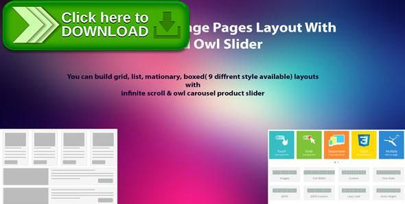 [ThemeForest]Free nulled download WooCommerce Manage Pages Layout With Unlimited Owl Slider from http://zippyfile.download/f.php?id=57915 Tags: ecommerce, boxed layout, grid layout, infinite scroll, isotop masonary layout, isotop product filter, list layout, Masonry layout, owl, owl carousel slider, WooCommerce  manage pages layout, WooCommerce page layouts, WooCommerce pages design, WooCommerce products layouts