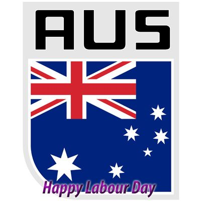 """Happy Labour day to all western Aussie"""