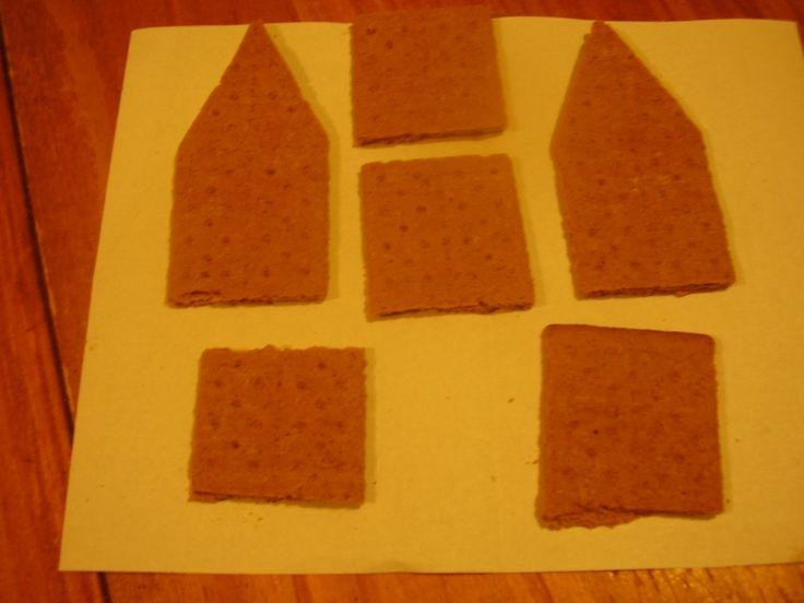 How To Make Graham Cracker Gingerbread Houses