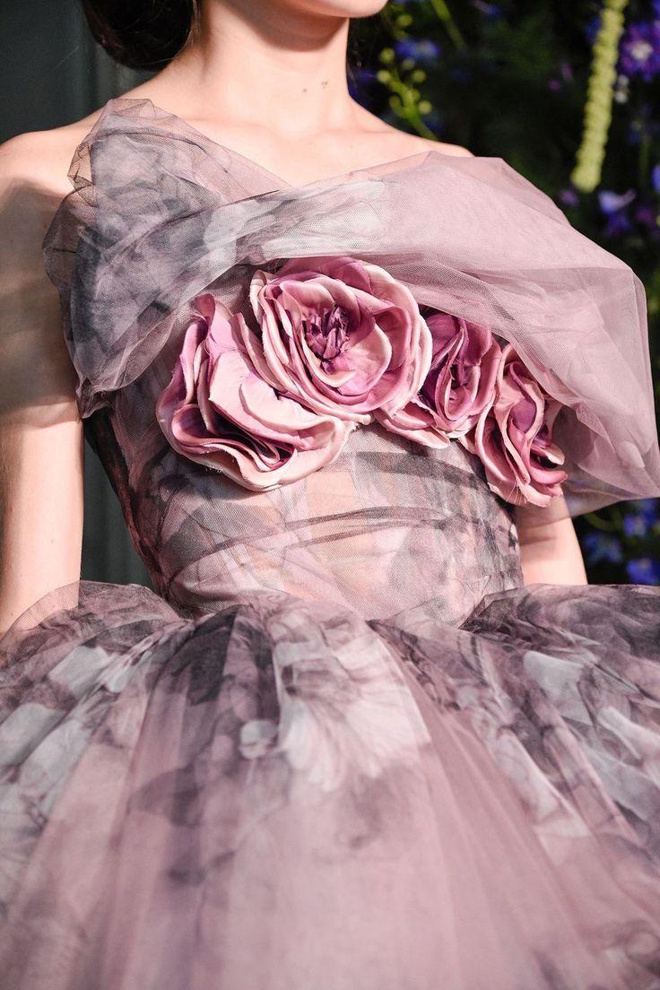 Backstage Guo Pei Couture fall 2017 Paris Fashion Week. Photo, Vogue UK